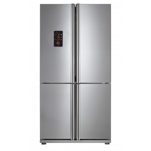 refrigerateur 4 portes noir. Black Bedroom Furniture Sets. Home Design Ideas