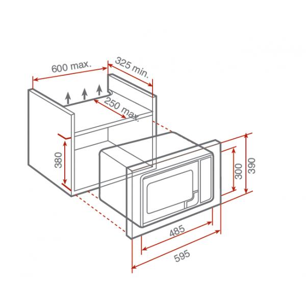 micro onde pose libre dimension nous quipons la maison avec des machines. Black Bedroom Furniture Sets. Home Design Ideas