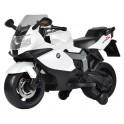 Moto électrique blanche BMW K1300R