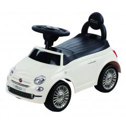 Porteur FIAT 500 blanc crème