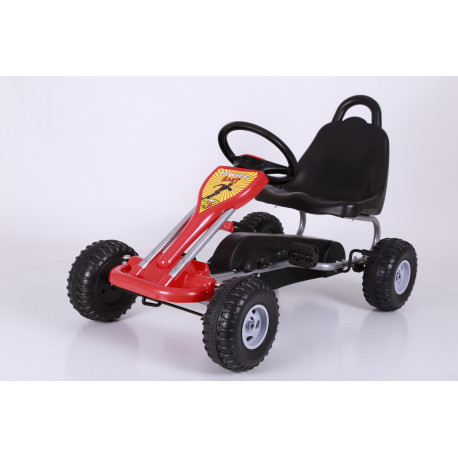 Kart pour enfant FAST&BABY rouge