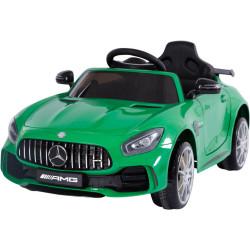 Véhicule électrique vert MERCEDES BENZ AMG GT