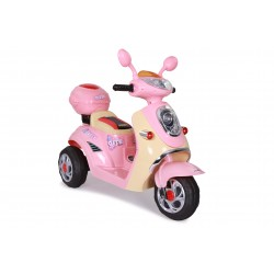 Scooter électrique rose FAST AND BABY