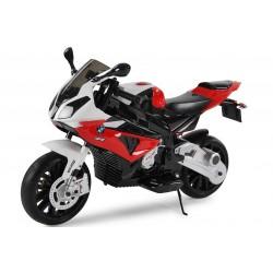Moto électrique rouge BMW S1000RR