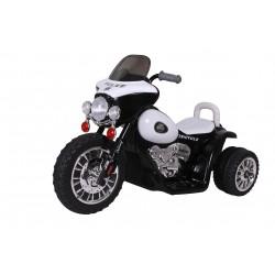 Moto électrique blanche