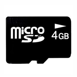 Carte Micro SD 4 Go
