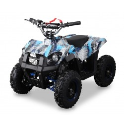 Pocket Quad 49cc GRIZZLY Bleu