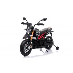 Moto électrique noir APRILIA DORSODURO 900