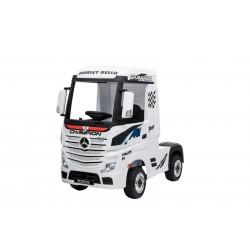 Camion électrique blanc MERCEDES BENZ ACTROS