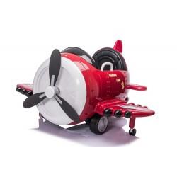 Avion électrique rouge FAST AND BABY