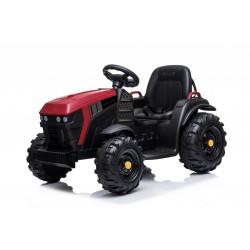 Tracteur électrique avec remorque rouge FAST AND BABY