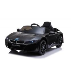 Véhicule électrique noir BMW I8