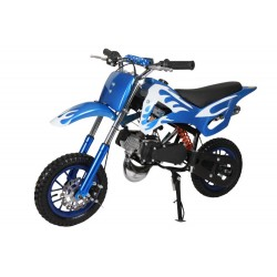 Pocket Cross 49cc Bleu et Blanc