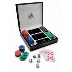 Coffret jeu de poker bois laqué Hambourg ORIENT EXPRESS – 11000600